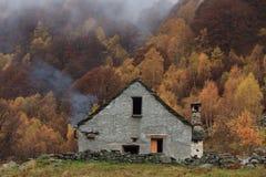 Σπίτι βουνών Στοκ Εικόνες