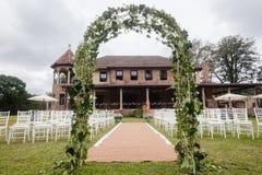 Σπίτι γαμήλιων ντεκόρ στοκ φωτογραφίες