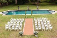 Σπίτι γαμήλιων ντεκόρ Στοκ εικόνες με δικαίωμα ελεύθερης χρήσης