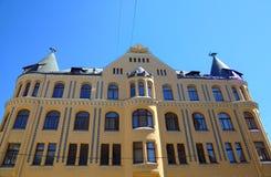 Σπίτι γατών στη Ρήγα Στοκ φωτογραφία με δικαίωμα ελεύθερης χρήσης