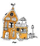 σπίτι γατών Στοκ φωτογραφία με δικαίωμα ελεύθερης χρήσης