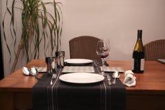 σπίτι γευμάτων οικείο στοκ εικόνα με δικαίωμα ελεύθερης χρήσης