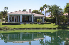 Σπίτι γηπέδων του γκολφ Καλιφόρνιας Στοκ Εικόνες