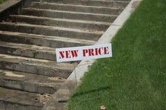 Σπίτι για την πώληση σε μια μειωμένη τιμή στοκ φωτογραφίες με δικαίωμα ελεύθερης χρήσης