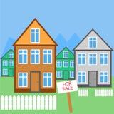 Σπίτι για το διανυσματικό εικονίδιο πώλησης Στοκ φωτογραφία με δικαίωμα ελεύθερης χρήσης