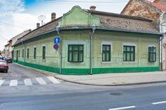 σπίτι γωνιών παλαιό στοκ φωτογραφία με δικαίωμα ελεύθερης χρήσης