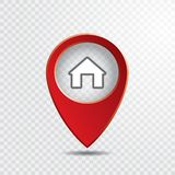 Σπίτι δεικτών Απεικόνιση αποθεμάτων