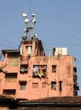 Σπίτι διαμερισμάτων σε Mumbai Στοκ εικόνα με δικαίωμα ελεύθερης χρήσης