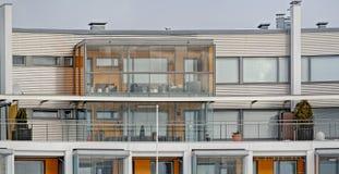 Σπίτι διαμερισμάτων στη Φινλανδία Στοκ Φωτογραφία