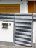 σπίτι εισόδων λεπτομέρει&alp Στοκ Φωτογραφίες