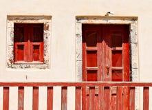 σπίτι εισόδων παλαιό Στοκ εικόνες με δικαίωμα ελεύθερης χρήσης
