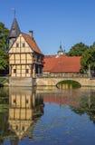 Σπίτι εισόδων του κάστρου Steinfurt Στοκ φωτογραφία με δικαίωμα ελεύθερης χρήσης