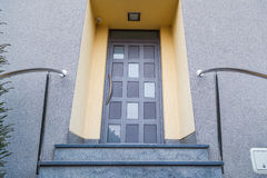 σπίτι εισόδων Στοκ Εικόνα