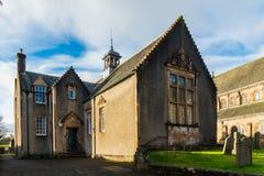 Σπίτι εκκλησιών καθεδρικών ναών Dunblane Στοκ εικόνα με δικαίωμα ελεύθερης χρήσης