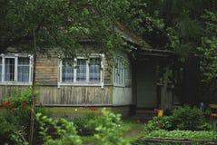 Σπίτι επαρχίας στη Ρωσία Στοκ φωτογραφία με δικαίωμα ελεύθερης χρήσης