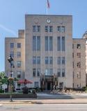 Σπίτι Επαρχιακού Δικαστηρίου στη δυτική Βιρτζίνια του Κλάρκσμπουργκ Στοκ Φωτογραφίες