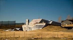 σπίτι ηλιακό Στοκ φωτογραφίες με δικαίωμα ελεύθερης χρήσης
