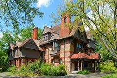 Σπίτι ημέρας της Katharine Seymour, Χάρτφορντ, CT, ΗΠΑ στοκ φωτογραφίες