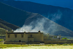 σπίτι Θιβετιανός στοκ φωτογραφίες