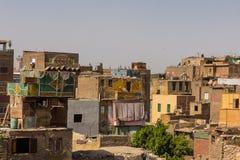 Σπίτι διαβίωσης, Κάιρο στην Αίγυπτο Στοκ φωτογραφία με δικαίωμα ελεύθερης χρήσης