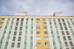 Σπίτι διαμερισμάτων στη Ρωσία Στοκ φωτογραφία με δικαίωμα ελεύθερης χρήσης