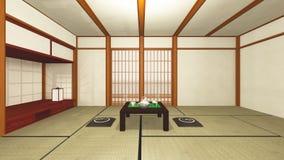 σπίτι ιαπωνικά Απεικόνιση αποθεμάτων