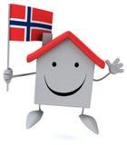 Σπίτι διασκέδασης Στοκ εικόνα με δικαίωμα ελεύθερης χρήσης