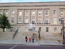 Σπίτι δικαστηρίου σε στο κέντρο της πόλης Wilmington Στοκ εικόνα με δικαίωμα ελεύθερης χρήσης