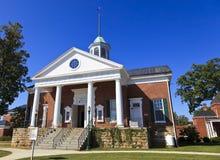 Σπίτι δικαστηρίου Appomattox στη Βιρτζίνια Στοκ εικόνα με δικαίωμα ελεύθερης χρήσης
