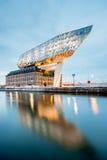 Σπίτι λιμένων σε Antwerpen Στοκ Εικόνα