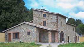 σπίτι Ιταλία Ουμβρία επαρχίας Στοκ Εικόνα