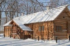 σπίτι ι kolomenskoe Peter Στοκ Φωτογραφία