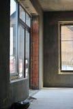 Σπίτι κάτω από την κατασκευή Στοκ εικόνα με δικαίωμα ελεύθερης χρήσης