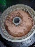 σπίτι κέικ που γίνεται Στοκ Φωτογραφίες