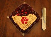 σπίτι κέικ που γίνεται Στοκ εικόνες με δικαίωμα ελεύθερης χρήσης