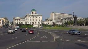 Σπίτι και μνημείο Pashkov στον πρίγκηπα Βλαντιμίρ, ηλιόλουστη ημέρα E απόθεμα βίντεο