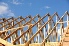 σπίτι κατασκευής κάτω Στοκ Φωτογραφίες