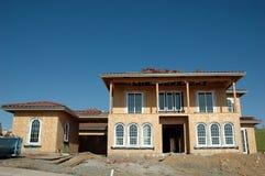 σπίτι κατασκευής κάτω Στοκ Εικόνα