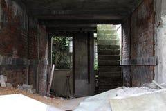 σπίτι κατασκευής κάτω στοκ εικόνα με δικαίωμα ελεύθερης χρήσης