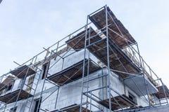 σπίτι κατασκευής κατοι&ka Στοκ Εικόνες