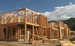 σπίτι κατασκευής νέο Στοκ Εικόνες