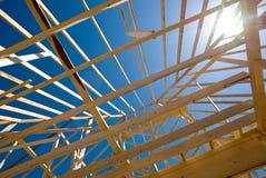 σπίτι κατασκευής νέο Στοκ εικόνα με δικαίωμα ελεύθερης χρήσης