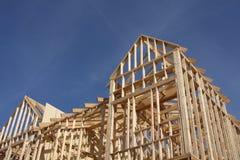 σπίτι κατασκευής νέο Στοκ Φωτογραφίες
