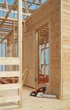 σπίτι κατασκευής Στοκ Εικόνες