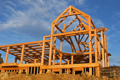 σπίτι κατασκευής στοκ φωτογραφία