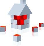 σπίτι κατασκευής απεικόνιση αποθεμάτων