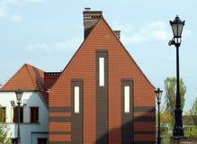 Σπίτι κατοικιών Στοκ Φωτογραφίες
