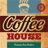 Σπίτι καφέ Στοκ Εικόνες