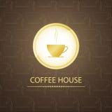 Σπίτι καφέ Στοκ Εικόνα