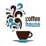 Σπίτι καφέ Στοκ εικόνα με δικαίωμα ελεύθερης χρήσης